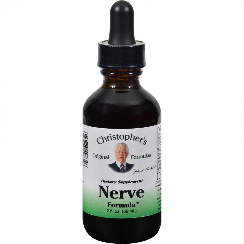 Dr. Christopher's Original Formulas Nerve Formula - 2 oz