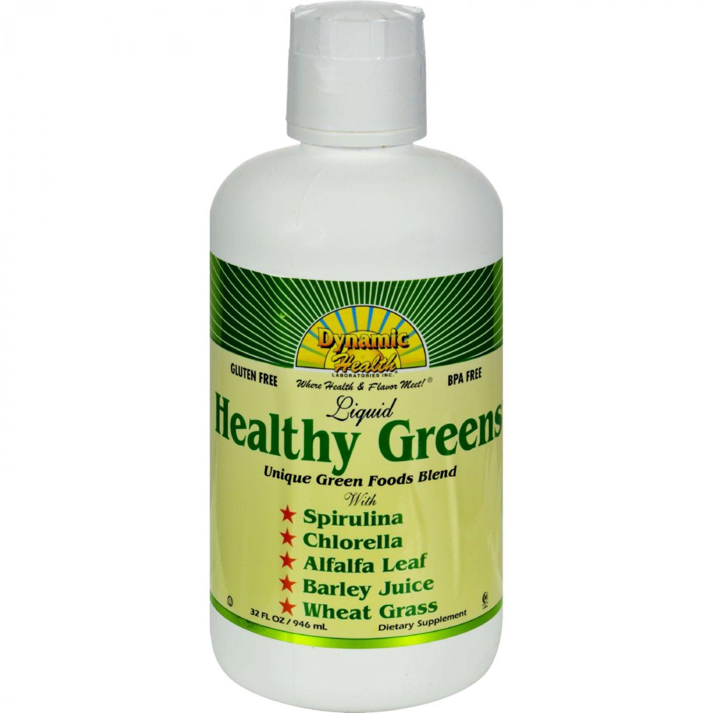 Dynamic Health Healthy Greens Liquid - 32 fl oz