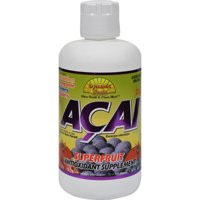 Dynamic Health Acia Plus Superfruit Antioxidant Supplement - 32 fl oz