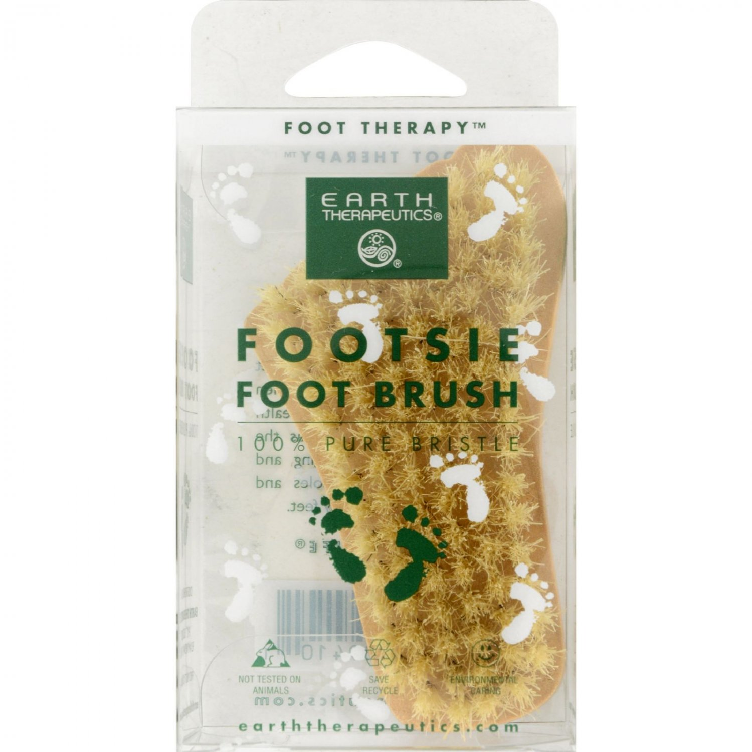 Earth Therapeutics Footsie Foot Brush - 1 Brush