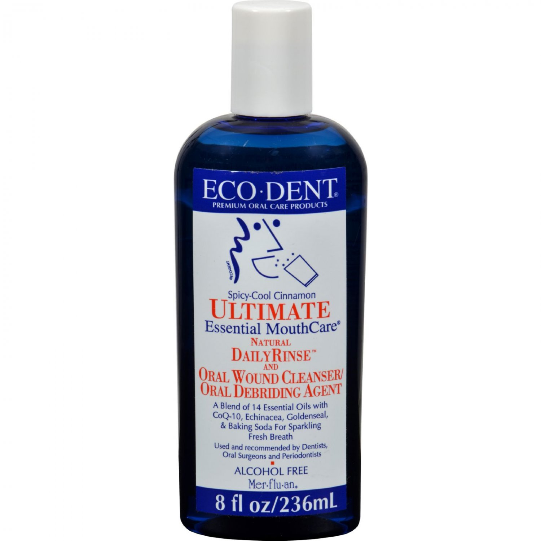 Eco-Dent Dailyrinse Mouthrinse - Cinnamon - 8 oz