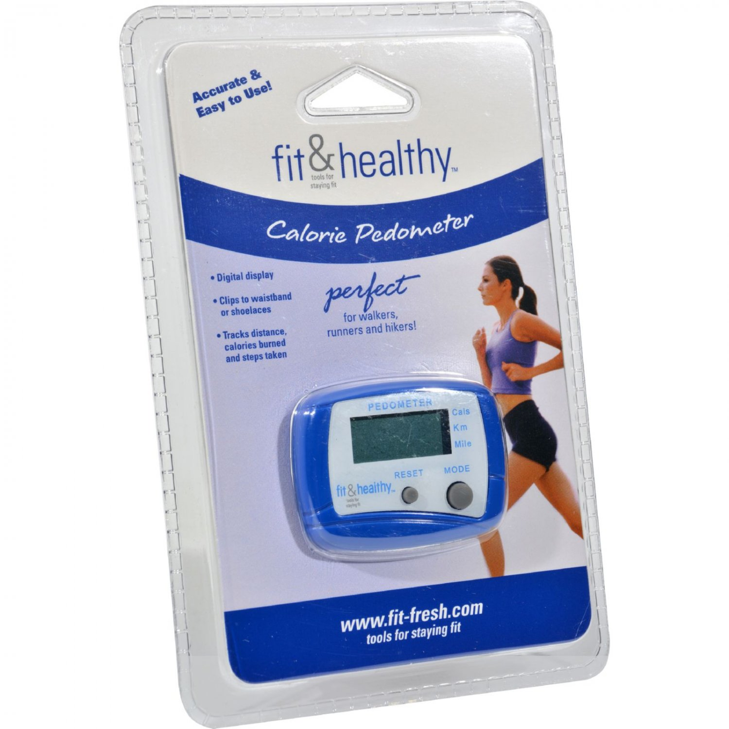Fit and Fresh Calorie Pedometer