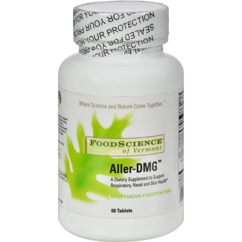 FoodScience of Vermont Aller-DMG - 60 Tablets