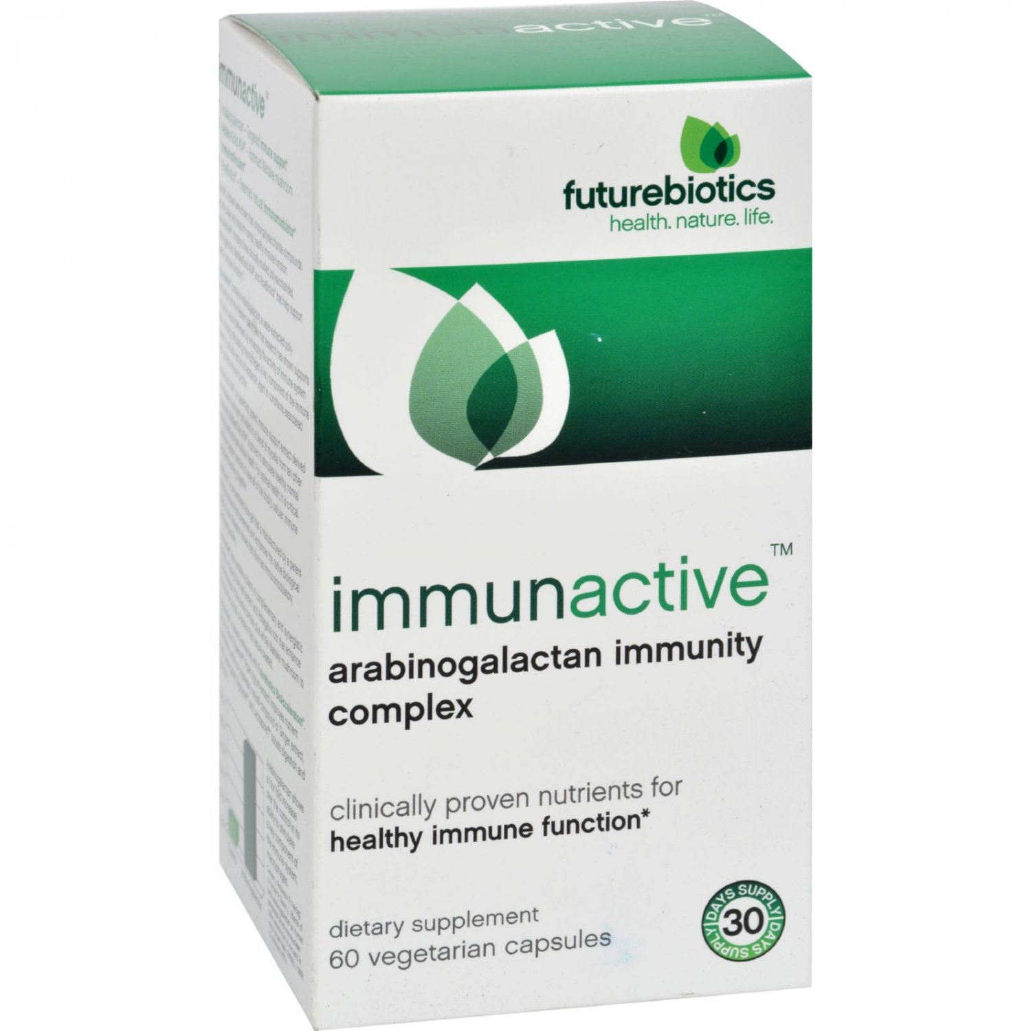 FutureBiotics ImmunActive - 60 Vegetarian Capsules
