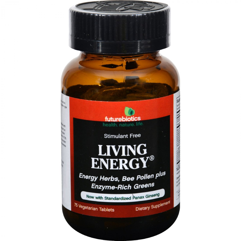 FutureBiotics Living Energy - 75 Tablets