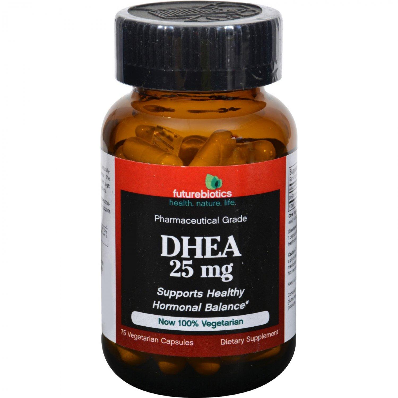 FutureBiotics DHEA - 25 mg - 75 Caps