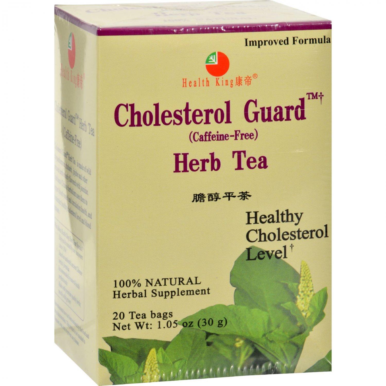 Health King Cholesterol Guard Herb Tea - 20 Tea Bags