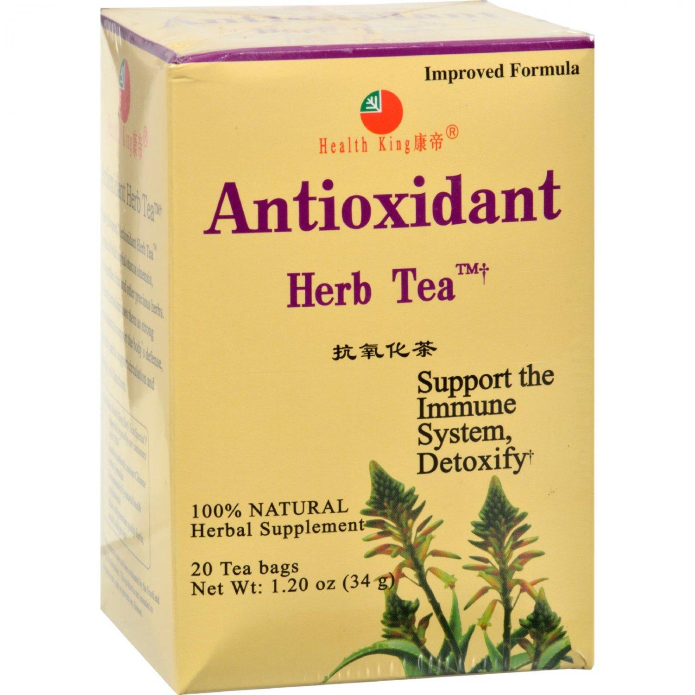 Health King Medicinal Teas Antioxidant Herb Tea - 20 Tea Bags