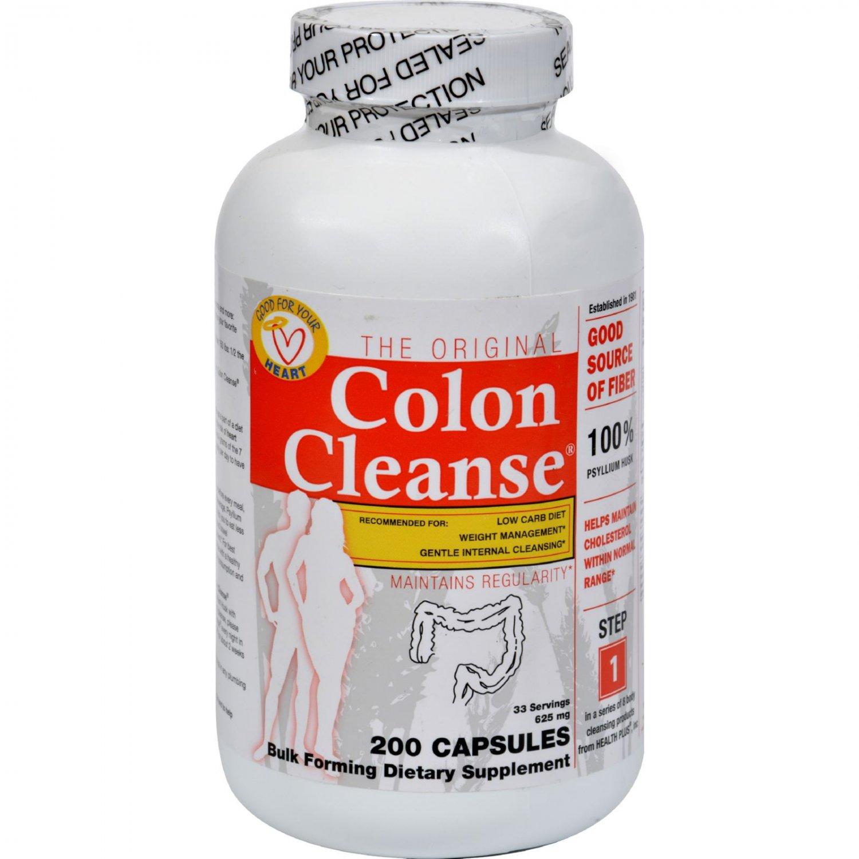 Health Plus The Original Colon Cleanse - 200 Capsules