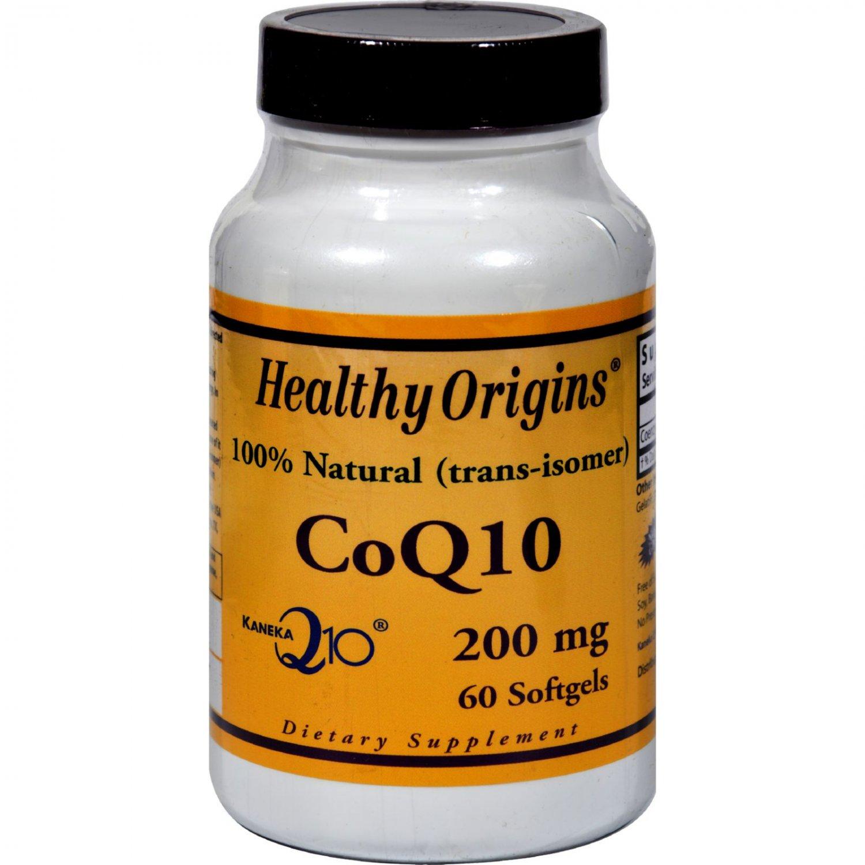Healthy Origins COQ10 - 200 mg - 60 Softgels