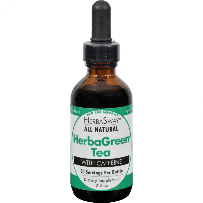 Herbasway Herbagreen Tea with Caffeine - 2 oz