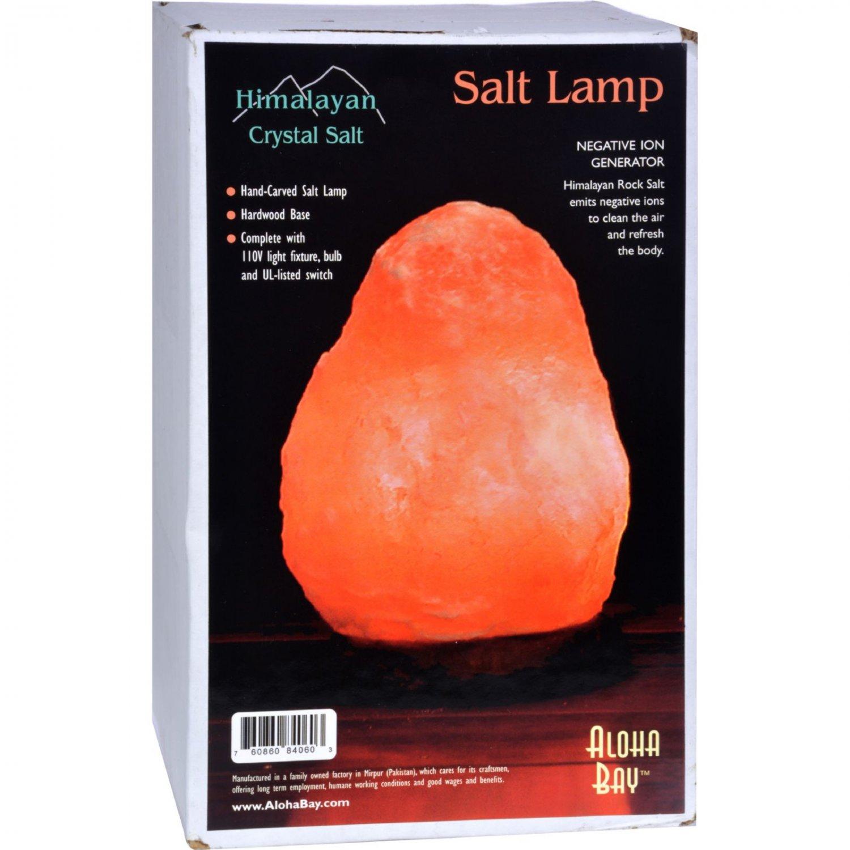 """Himalayan Salt Crystal Lamp Small 7"""""""""""""""" To 8"""""""""""""""" - 1 Lamp"""