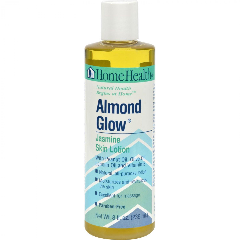 Home Health Almond Glow Skin Lotion Jasmine - 8 fl oz