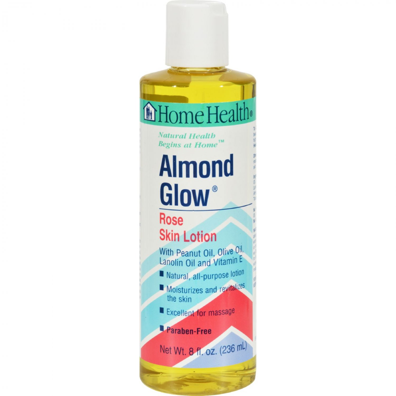Home Health Almond Glow Skin Lotion Rose - 8 fl oz
