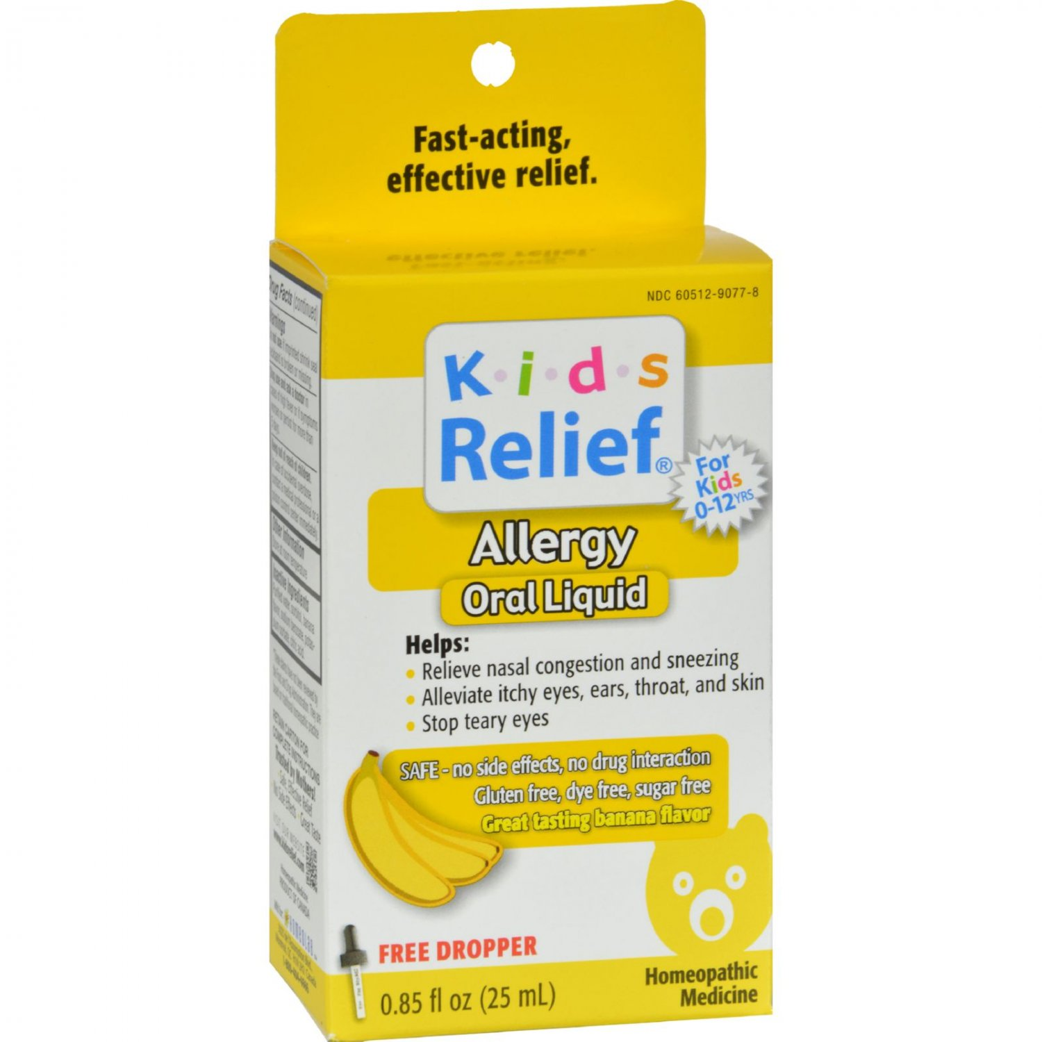 Homeolab USA Kids Relief Allergy Banana - 0.85 fl oz