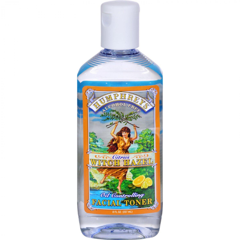 Humphrey's Homeopathic Remedy Witch Hazel Facial Toner Citrus - 8 fl oz