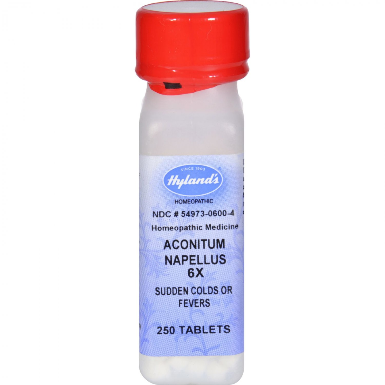 Hyland's Aconitum Napellus 6X - 250 Tablets
