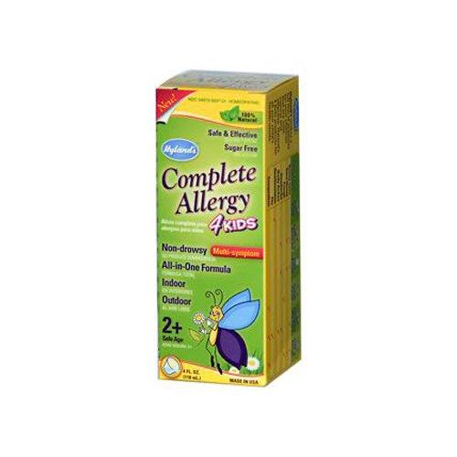 Hyland's Complete Allergy 4 Kids - 4 fl oz