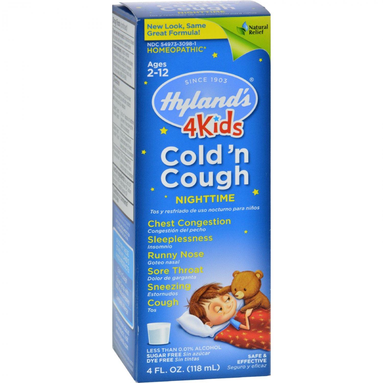Hyland's Night Time Cold N Cough 4 Kids - 4 fl oz