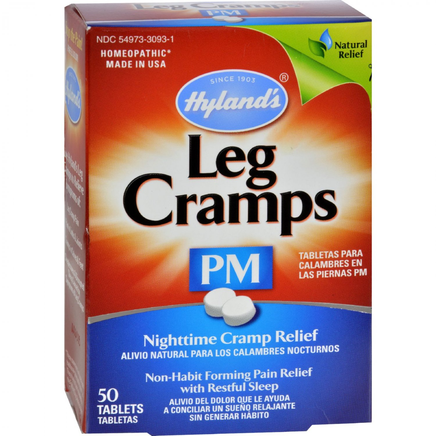 Hyland's Leg Cramps PM - 50 Tablets
