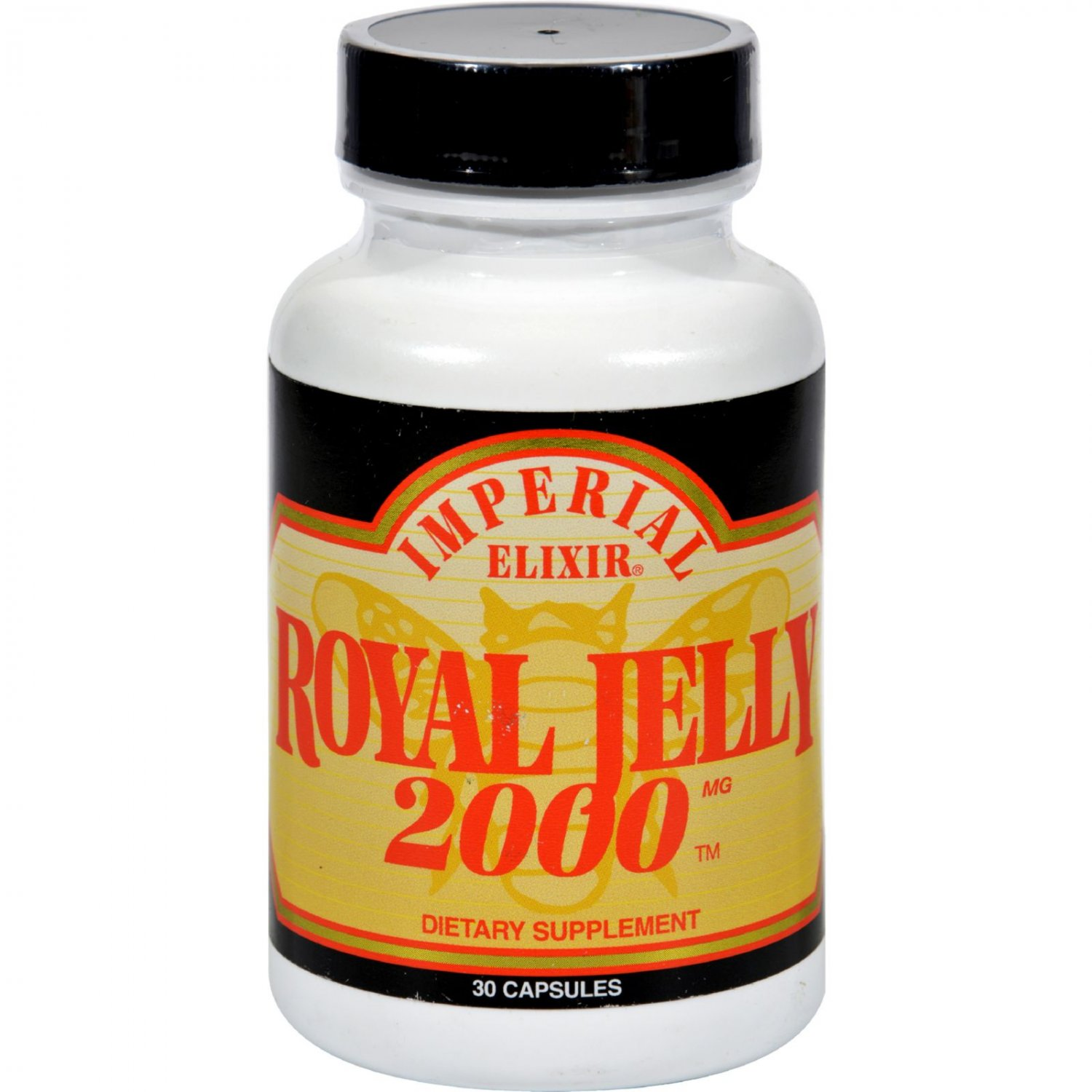 Imperial Elixir Royal Jelly 2000 - 2000 mg - 30 Capsules