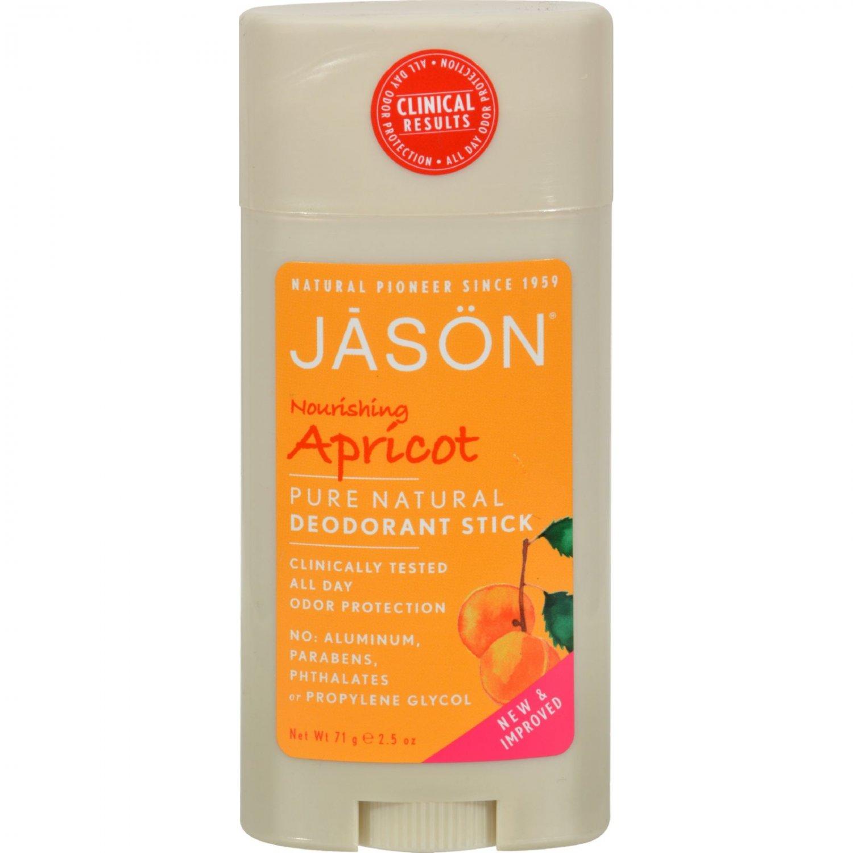 Jason Deodorant Stick Nourishing Apricot - 2.5 oz