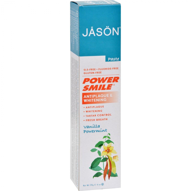 Jason PowerSmile Toothpaste Vanilla Mint - 6 oz