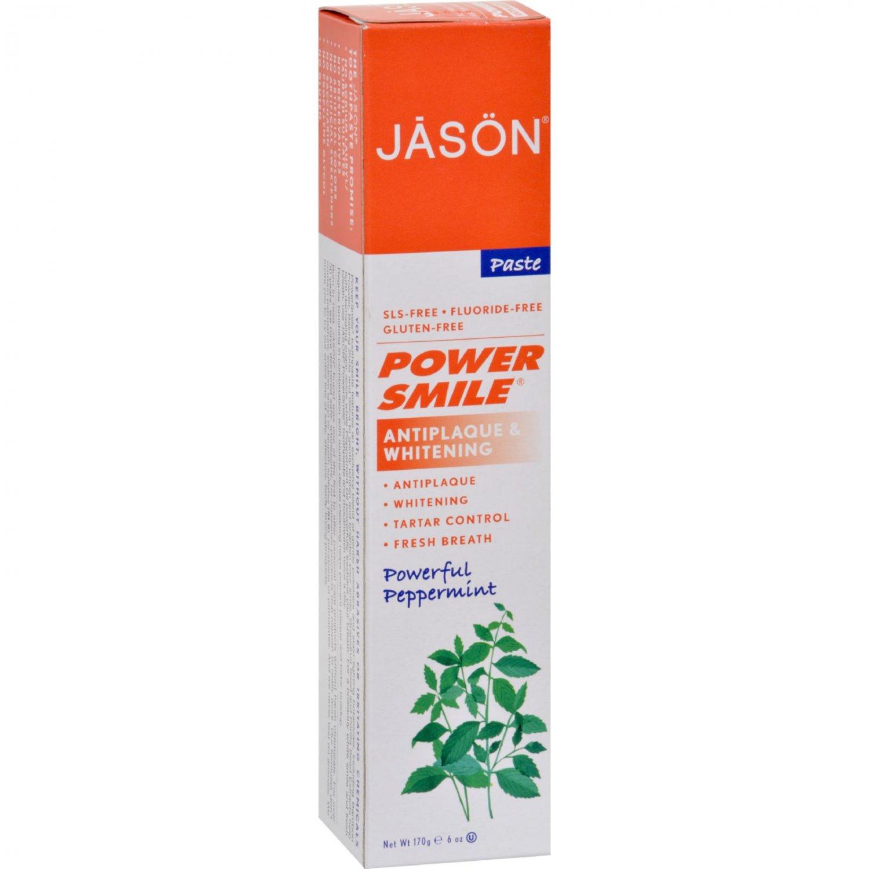 Jason PowerSmile All Natural Whitening Toothpaste - 6 oz