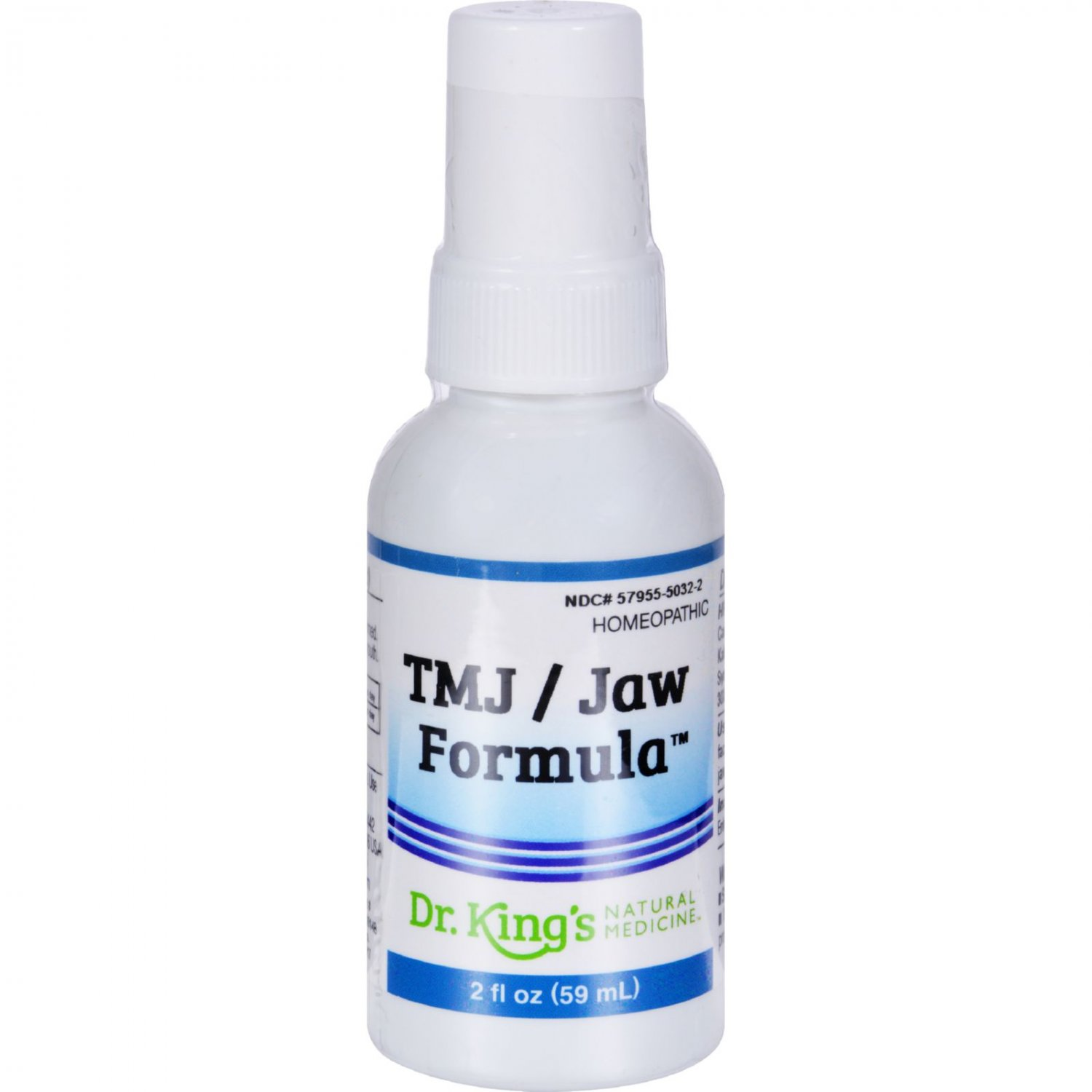 King Bio Homeopathic TMJ Jaw Formula - 2 fl oz