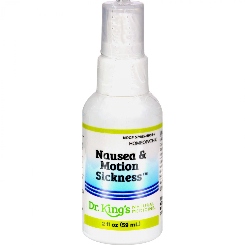King Bio Homeopathic Nausea and Motion Sickness - 2 fl oz