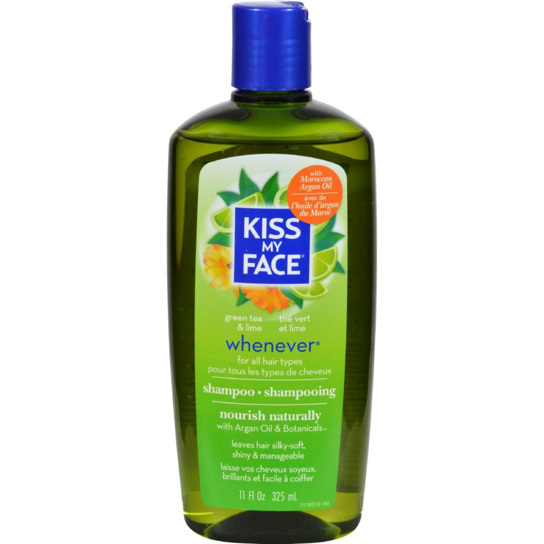 Kiss My Face Whenever Shampoo Green Tea and Lime - 11 fl oz