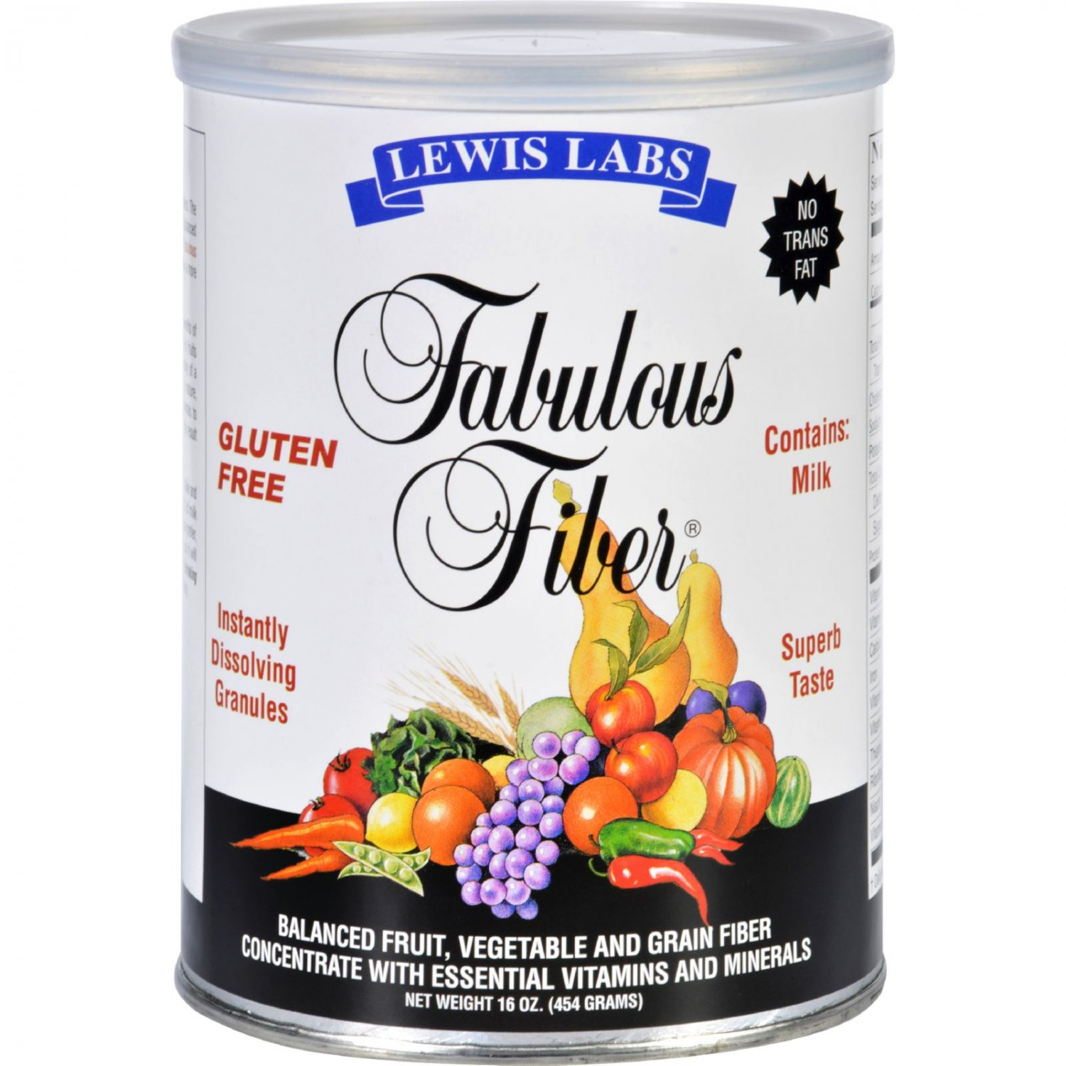 Lewis Lab Fabulous Fiber - 16 oz