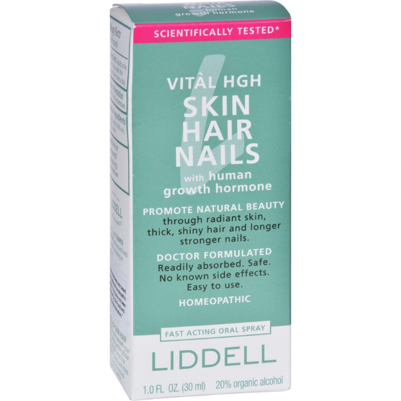 Liddell Homeopathic Vital High Skin,Hair,Nails - 1 oz