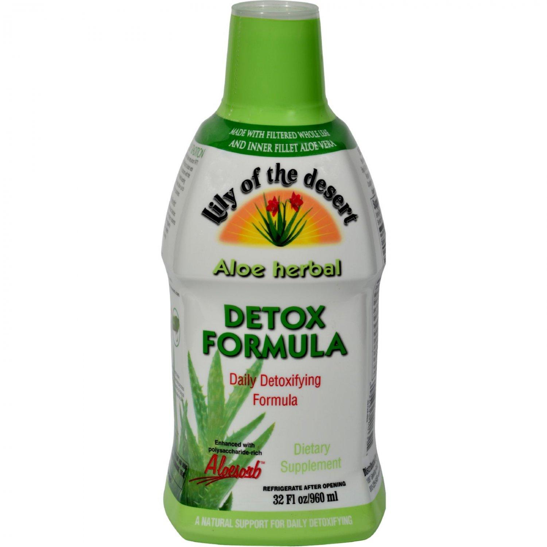 Lily of the Desert Aloe Herbal Detoxifying Formula - 32 fl oz