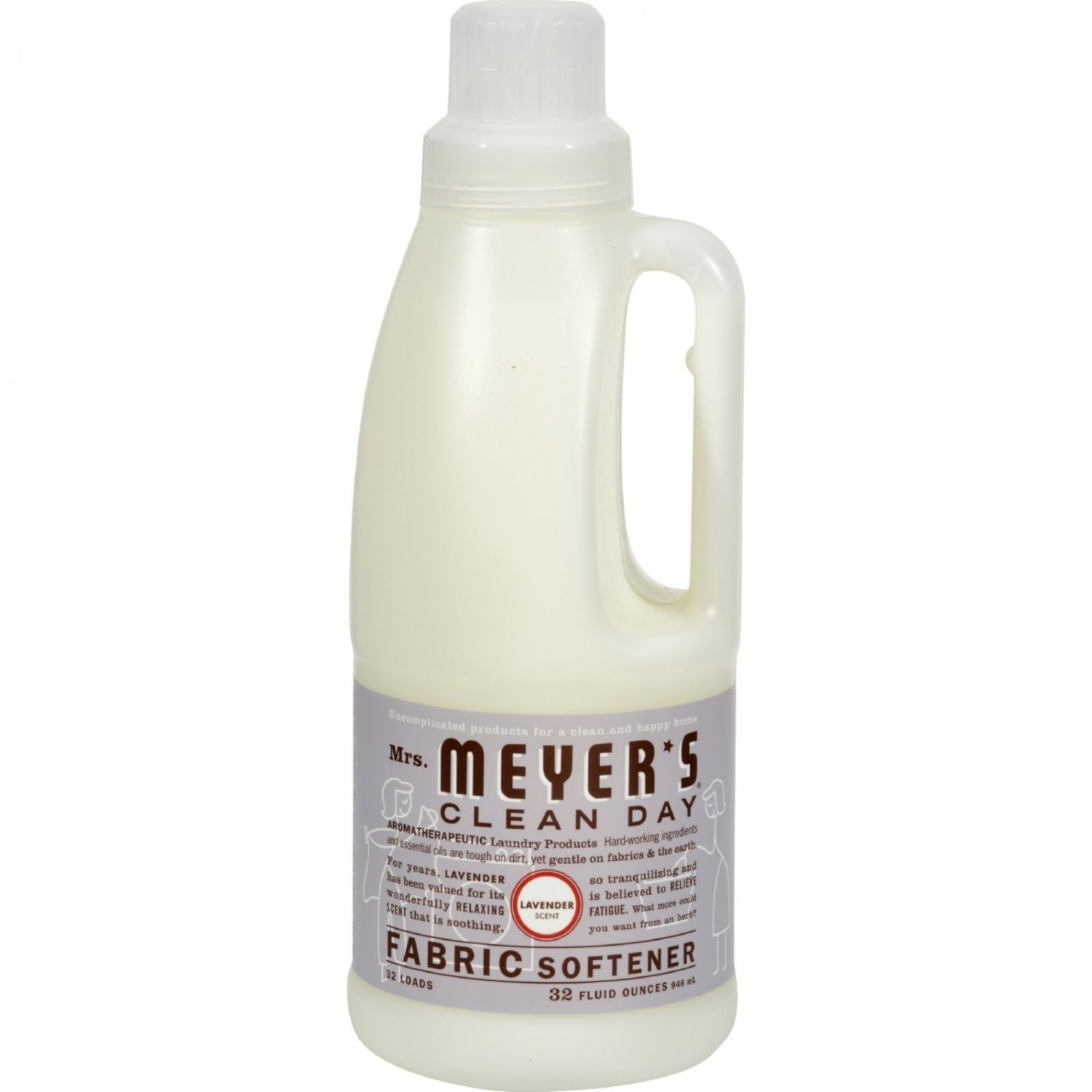 Mrs. Meyer's Fabric Softener - Lavender - Case of 6 - 32 oz