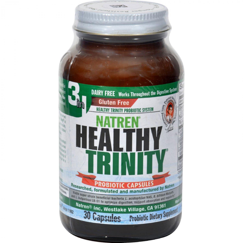 Natren Healthy Trinity Dairy Free - 30 Capsules