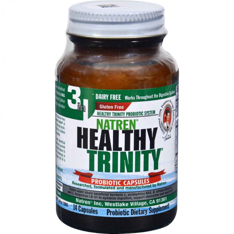 Natren Healthy Trinity Dairy Free - 14 Caplets