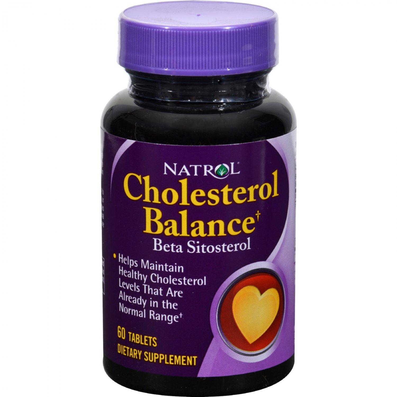 Natrol Cholesterol Balance Beta Sitosterol - 60 Tablets