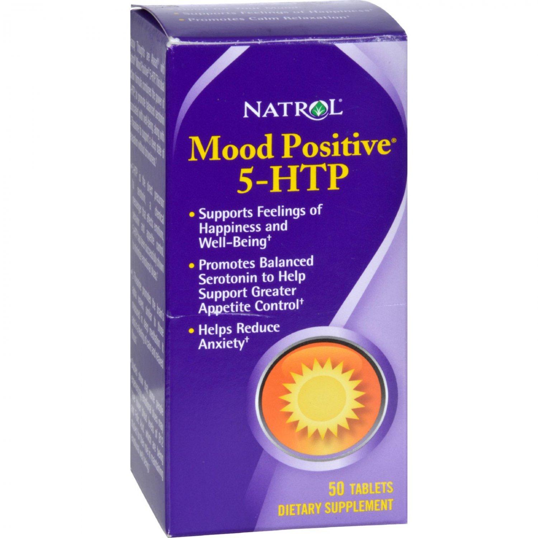 Natrol Mood Positive 5-HTP - 50 Tablets