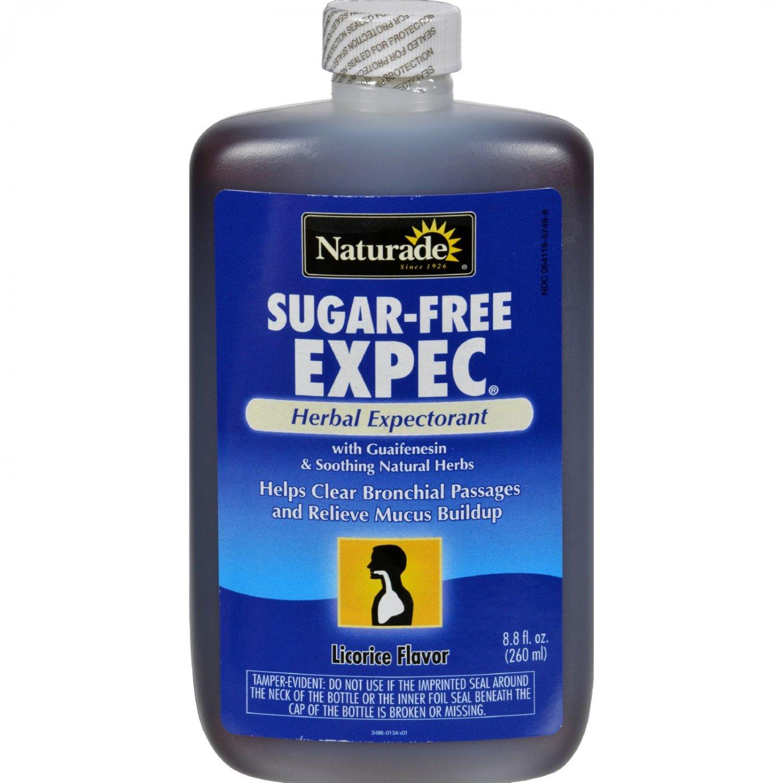 Naturade Sugar Free EXPEC Herbal Expectorant - 8.8 fl oz