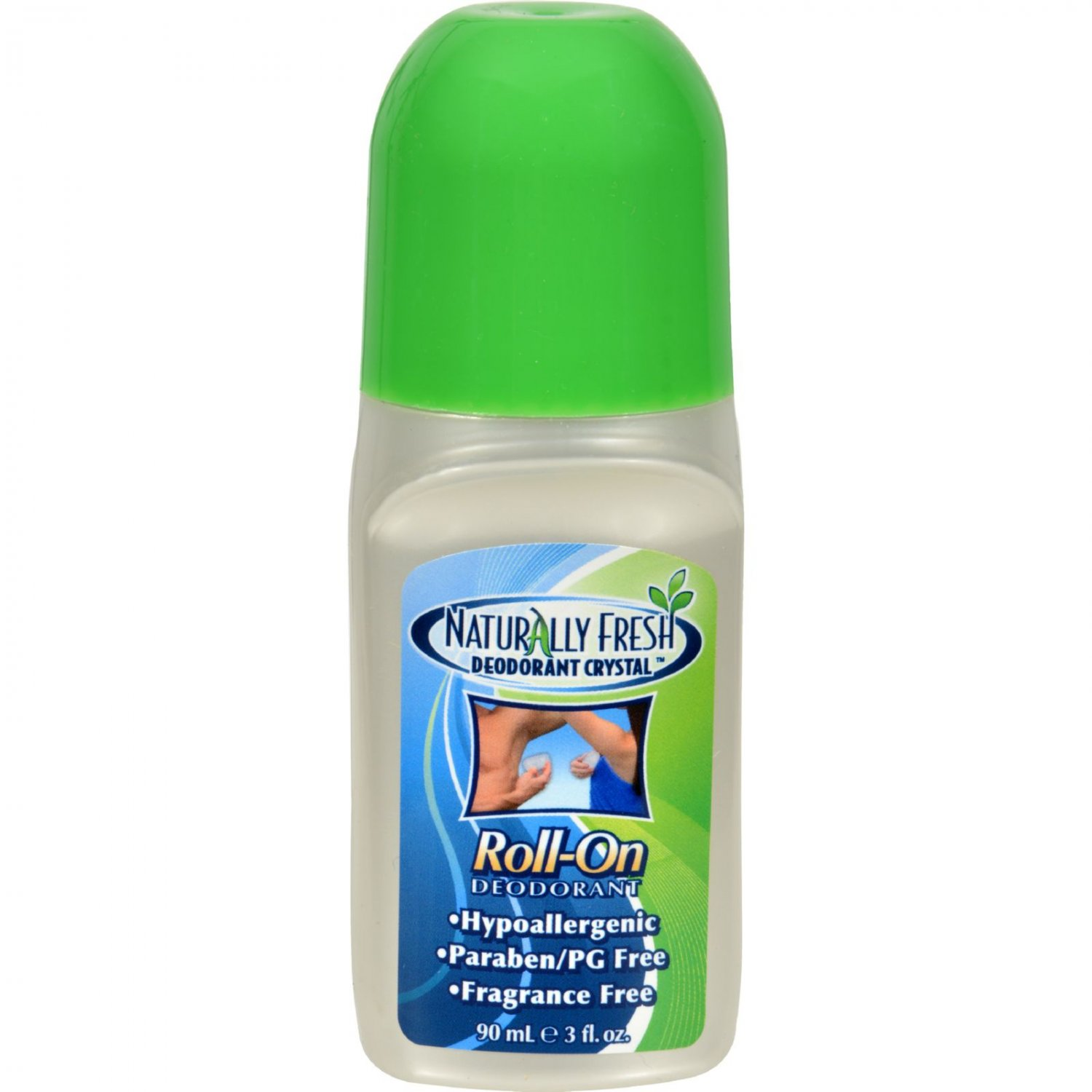 Naturally Fresh Roll On Deodorant Crystal - 3 oz