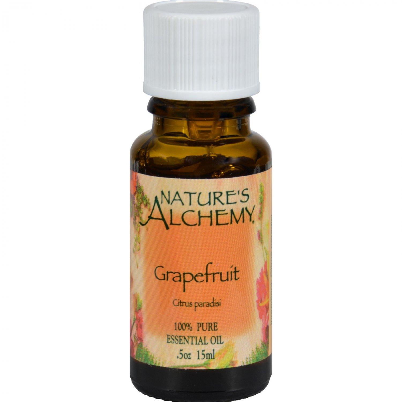 Nature's Alchemy 100% Pure Essential Oil Grapefruit - 0.5 fl oz