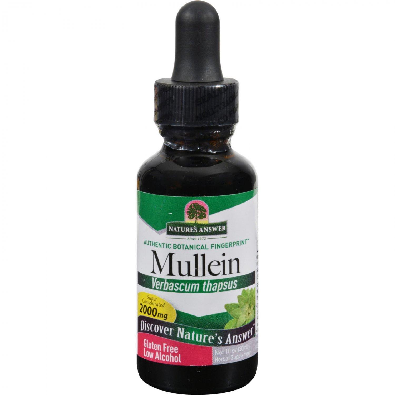Nature's Answer Mullein Leaf - 1 fl oz