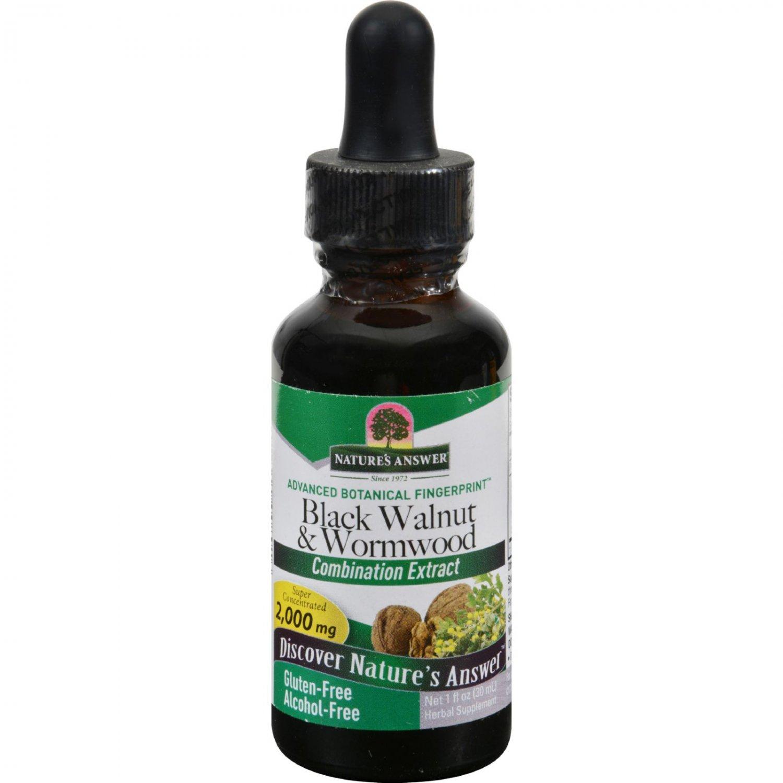 Nature's Answer Black Walnut and Wormwood Complex Alcohol Free - 1 fl oz