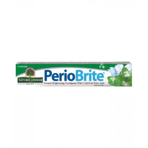 Nature's Answer PerioBrite Toothpaste Cool Mint - 4 oz