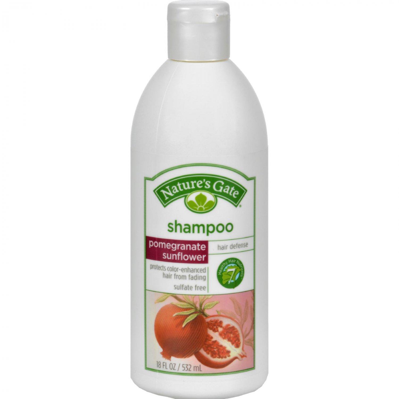 Nature's Gate Shampoo Pomegranate Sunflower - 18 fl oz