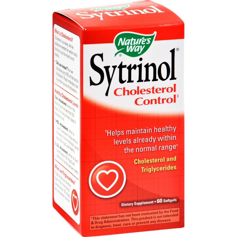 Nature's Way Sytrinol Cholesterol Control - 60 Softgels