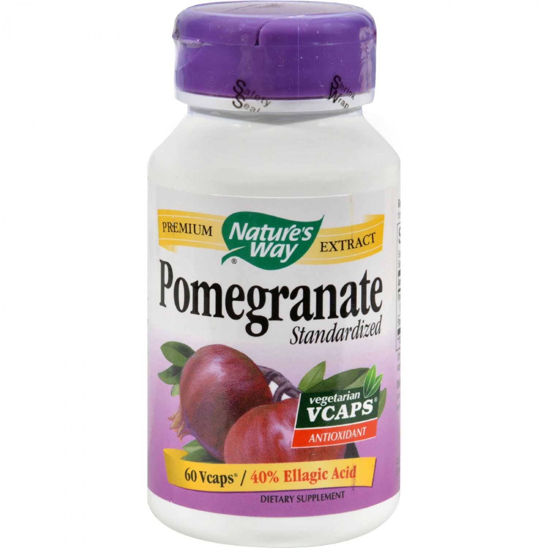 Nature's Way Pomegranate Standardized - 60 Vegetarian Capsules