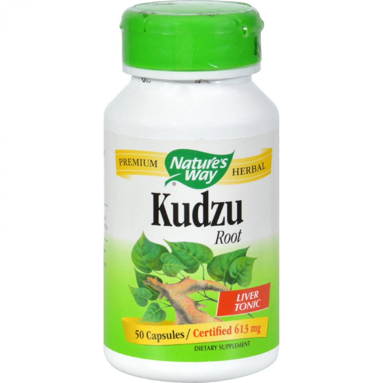 Nature's Way Kudzu Root - 50 Capsules