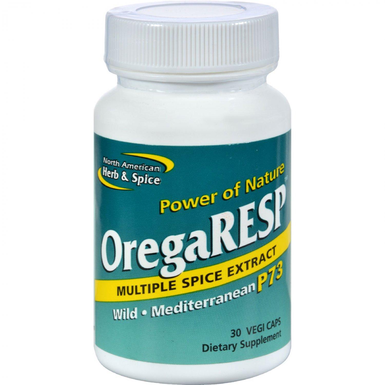 North American Herb and Spice OregaRESP - 30 Vegetarian Capsules